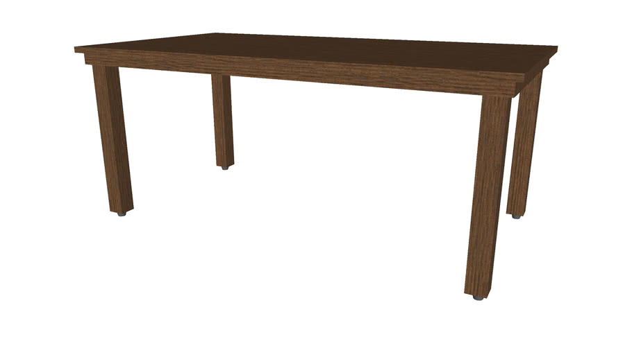 Dining Table 39inx72in - Detailed