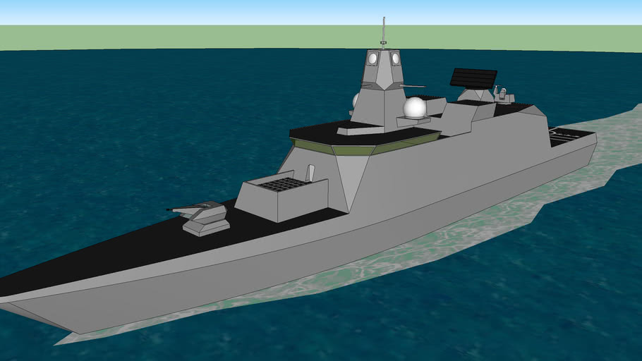 Guided Missile Corvette