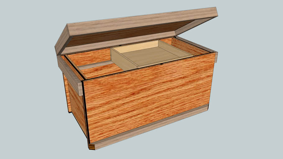Twin's Toy Chests.