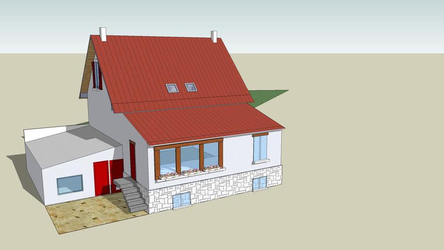 Maison 3D exterieur