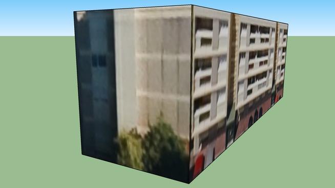 皮埃尔贝尼特, 法国的建筑模型