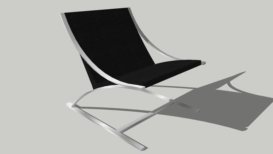 """modern Paul Tuttle """"Z"""" Chair"""