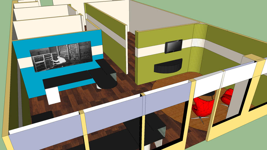 Proposed New Office Layout for TechBundle