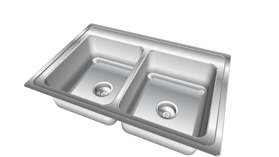 Stainless Steel Kitchen Sink Double