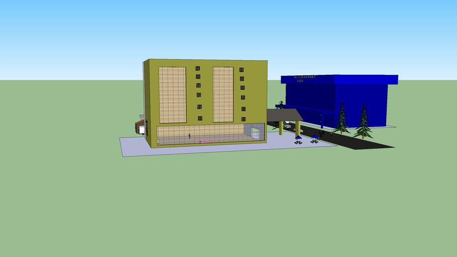 city bangunan reka
