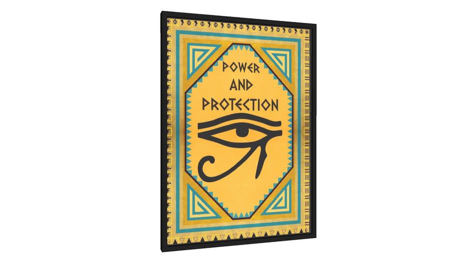 Quadro Power and Protection - Galeria9, por Bruno Borges