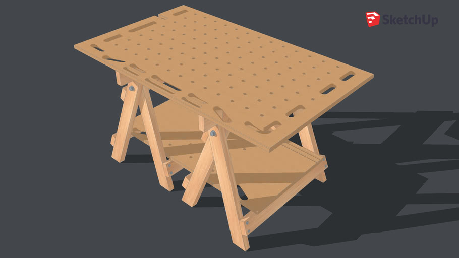 Copy of Portable Multifunction Workbench