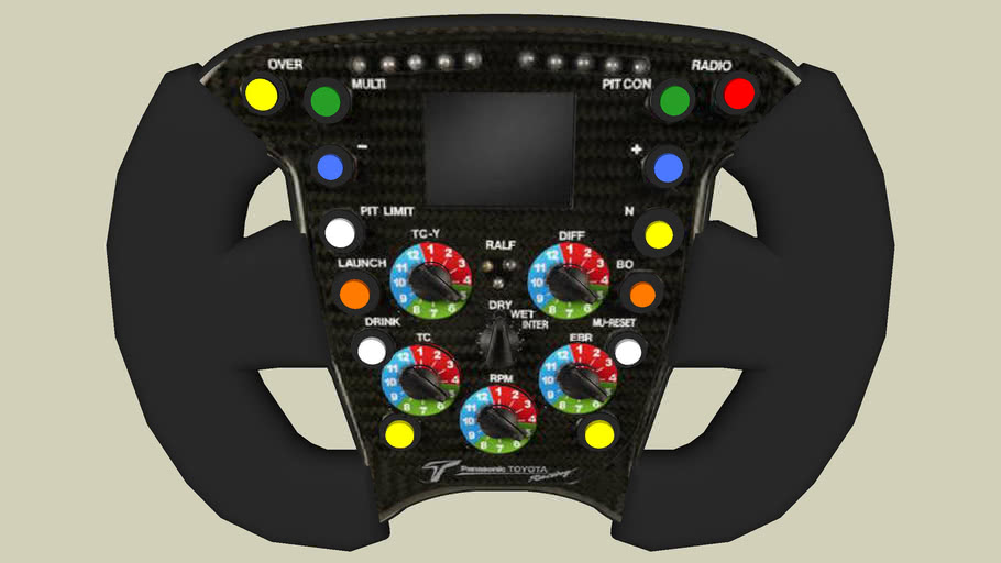 STEERING WHEEL TOYOTA F1