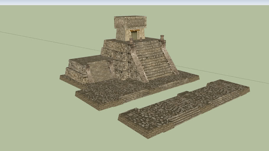 Primer lugar: Pirámide de Santa Cecilia, Estado de México