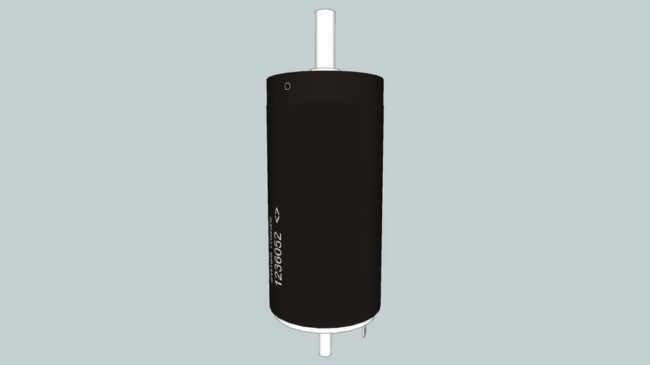 Maxon DC motor - 35mm case 90W 273752 (Scale 10:1)