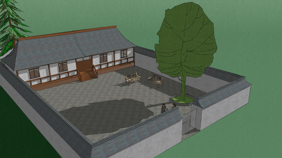 Feudal Japanese House By Mazim 3d Warehouse