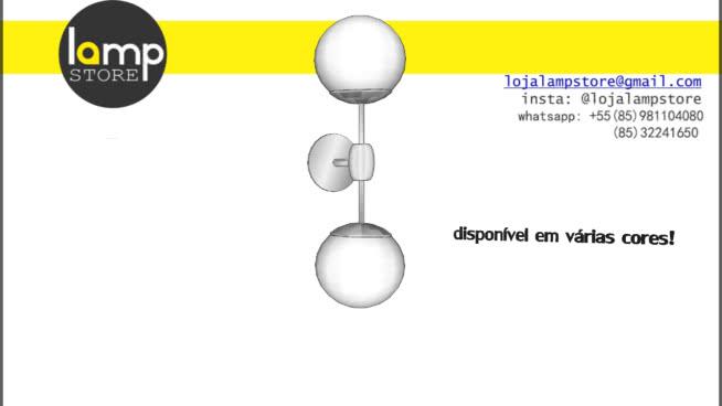 arandela globos