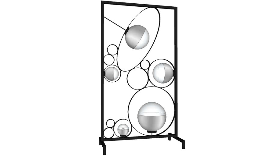 KARE 39047 Floor Lamp Balloon Clear Square (Stehleuchte Balloon Clear Square)