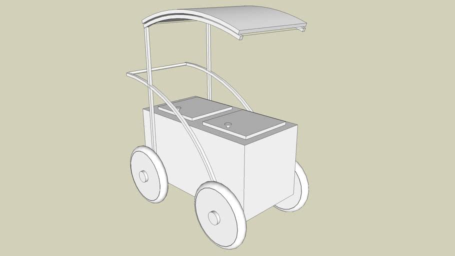 Hawker cart