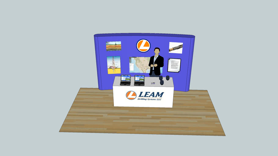 LEAM Job Fair Booth