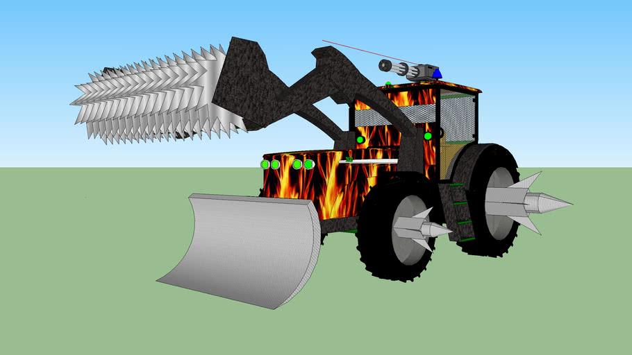 Zombie Apocalypse Tractor (John Deere)