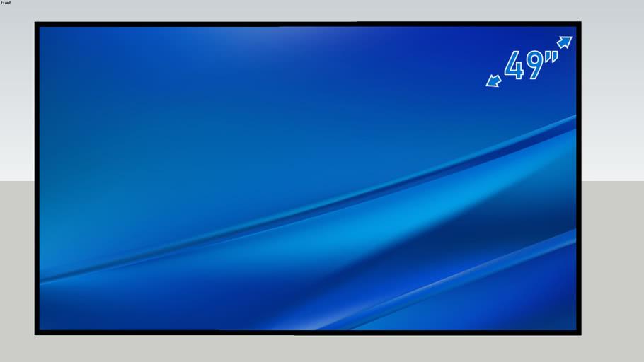 Samsung Pro 24/7 TV panel 49'' QM49R