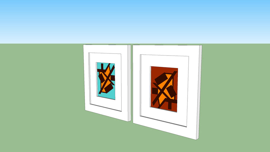 small pictures, quadros pequenos
