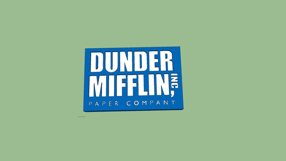 Dunder Mifflin Sign