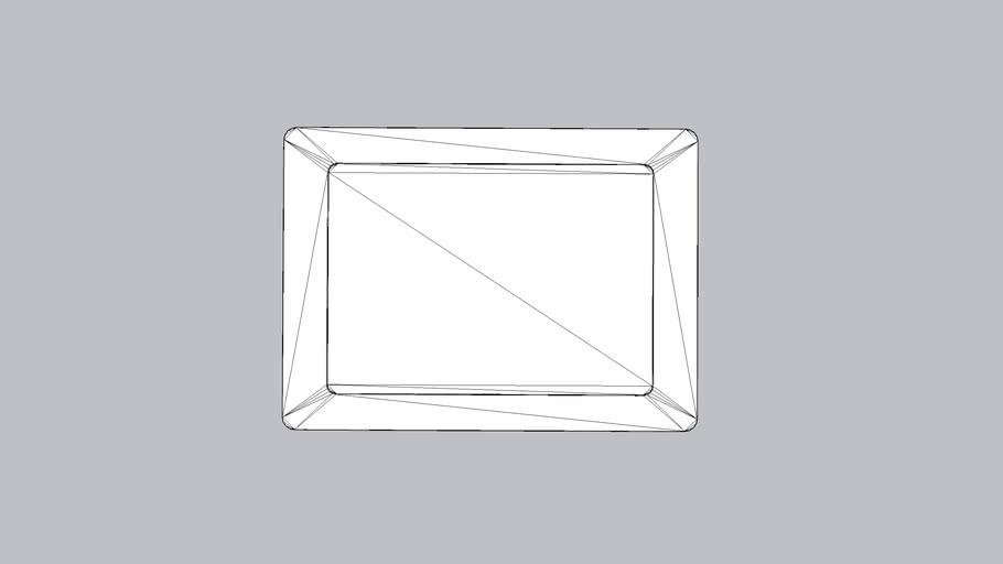 Microsoft Surface Go / Go 2 compatible VidaMount On-wall Slim Tablet Mount