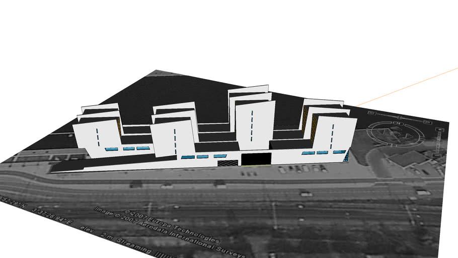 Afstudeer project (Stadskantoor Middelburg)