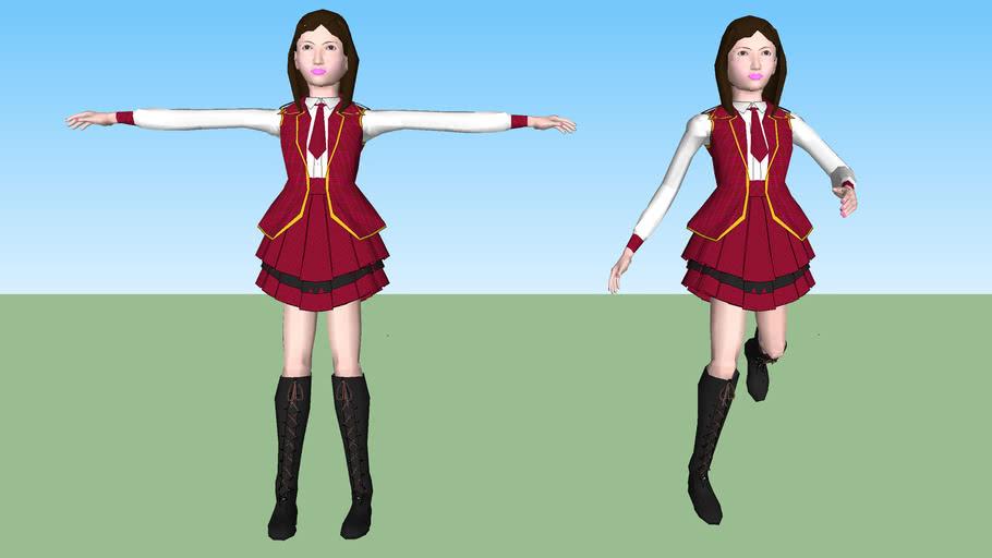 AKB48 板野友美(アニメーション対応モデル)