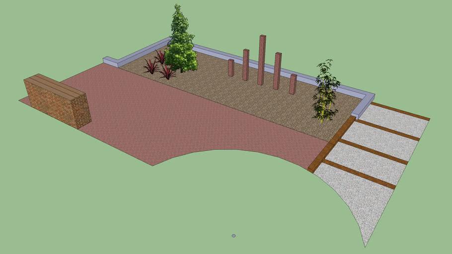Diseño pequeño jardí