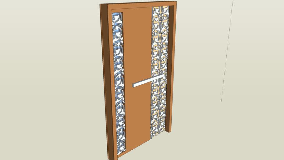 Special Door (Porte Spéciale 2012 + bois & inox)