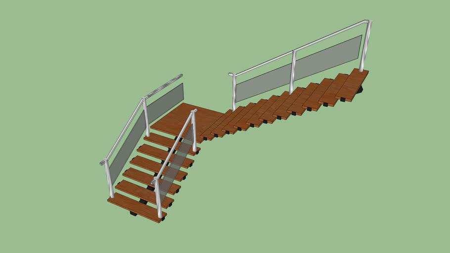 Escada Suspena