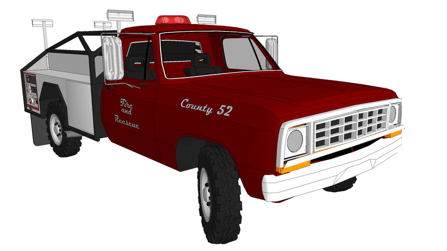 1974 Dodge D200 4x4