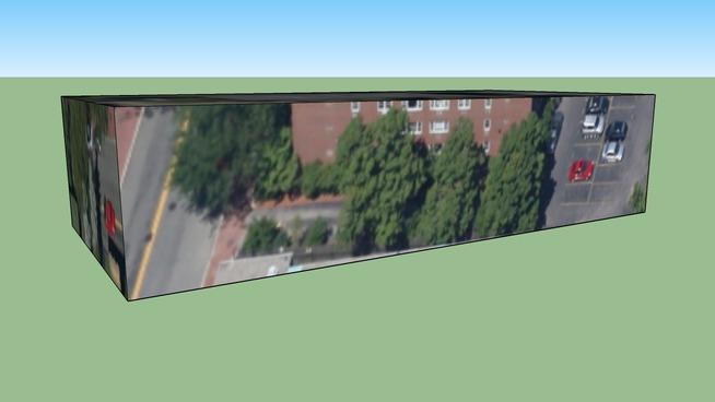 Building in Mid-Cambridge, MA, USA