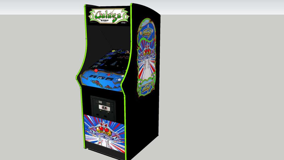 Galaga arcade game A