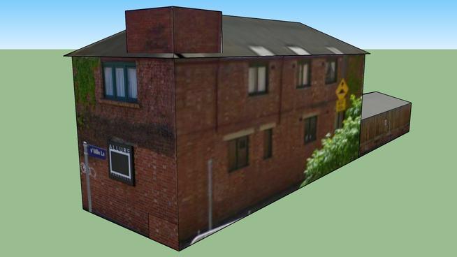 Gebäude in Victoria 3052, Australien