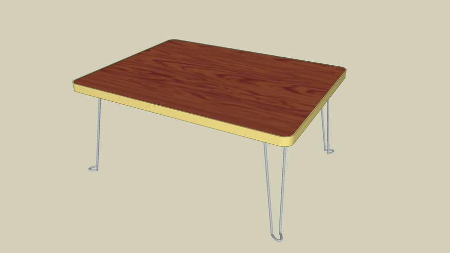 The Small folding tabel ~折りたたみ座卓~