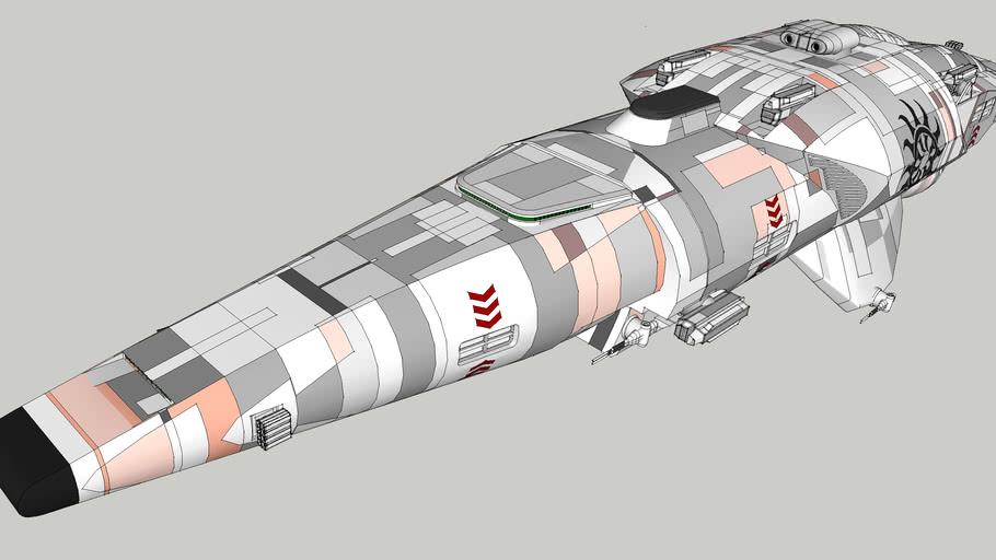 Solar Scythe Redemption - Saviour Ship
