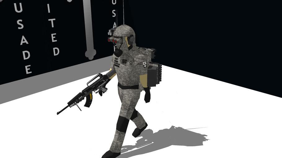 regular infantry