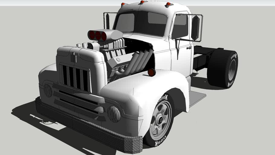 1951 IH R190 Drag Truck
