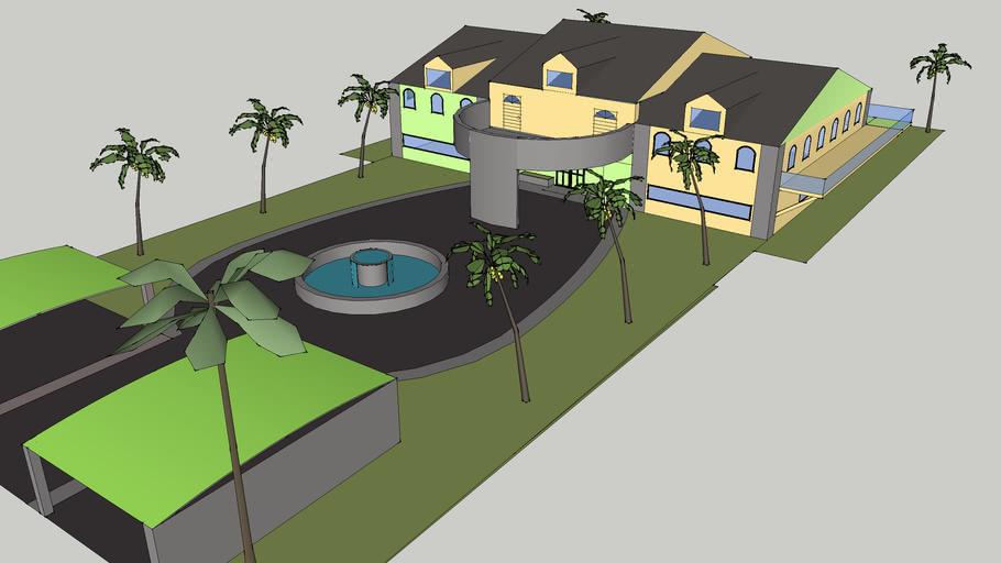 -Awesome Beach House-