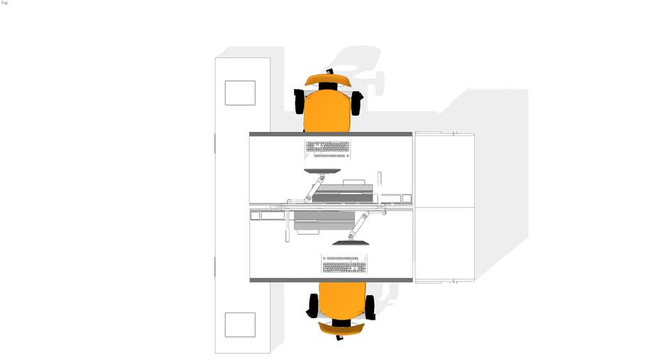 steel case office system