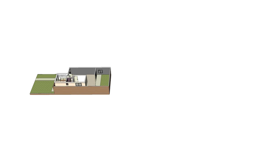 Montserrat 2 sem cozinha, sala expandida