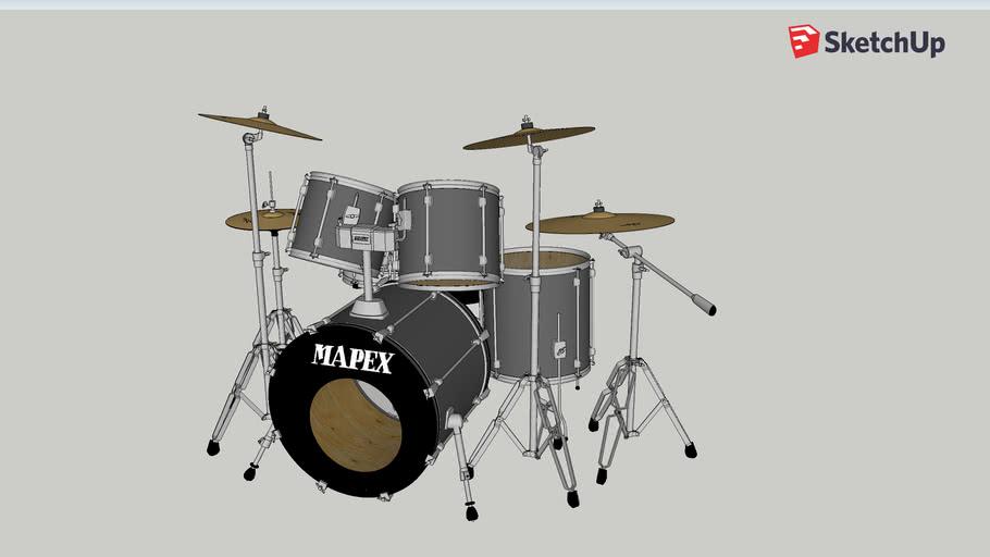 Drumkit Mapex LeftHanded