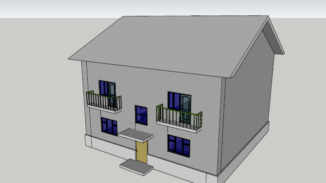 Блокированный жилой дом