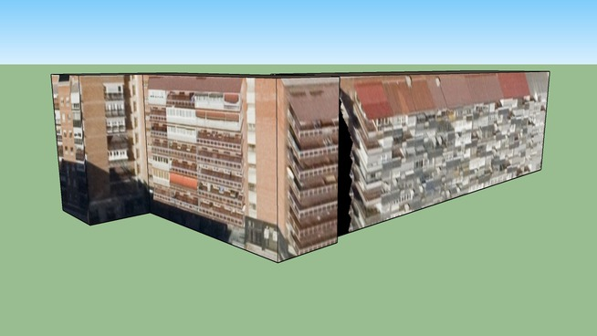 Edificio en Madrid, España, cerca de ka ctba