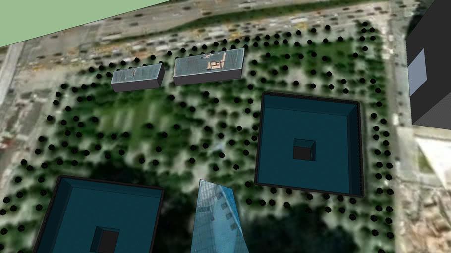 3d model of WTC complex