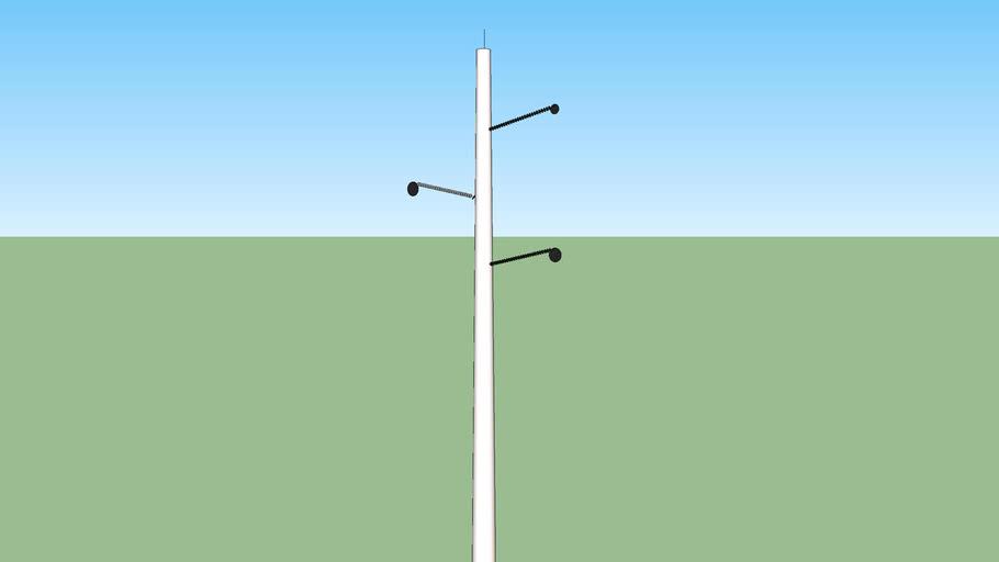 Another Concrete power pole