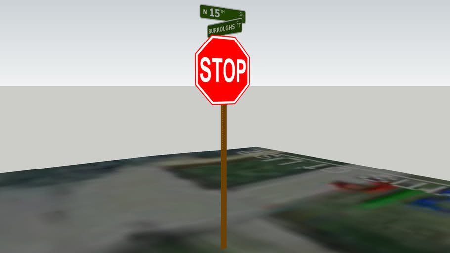 Stop Sign / Street Name Sign