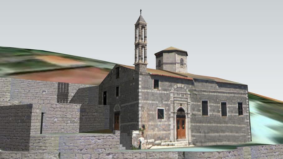 Saint Apostles Church, Lagkadia - Ναός Αγίων Αποστόλων, Λαγκάδια (1853)