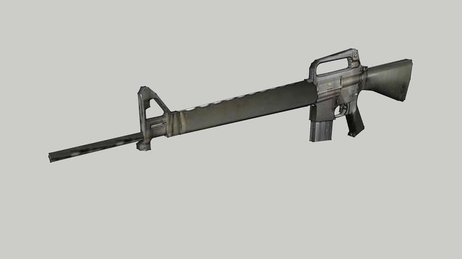 M16 low poly