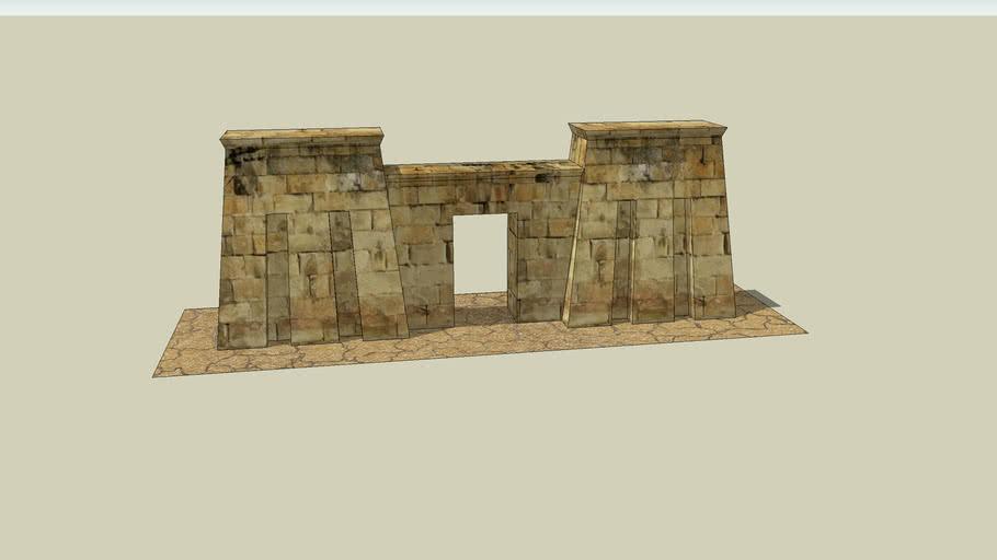 Egyptian Temple Entrance