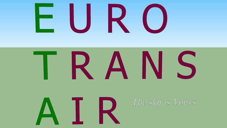 Euro Trans Air Logo (fictional)